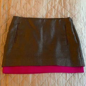 Diane Von Furstenberg Elley Black Skirt, Size 4